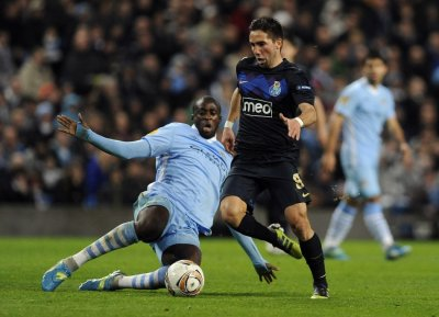 Soccer - UEFA Europa League - Round of 32 - Second Leg - Manchester City v FC Porto - Etihad Stadium