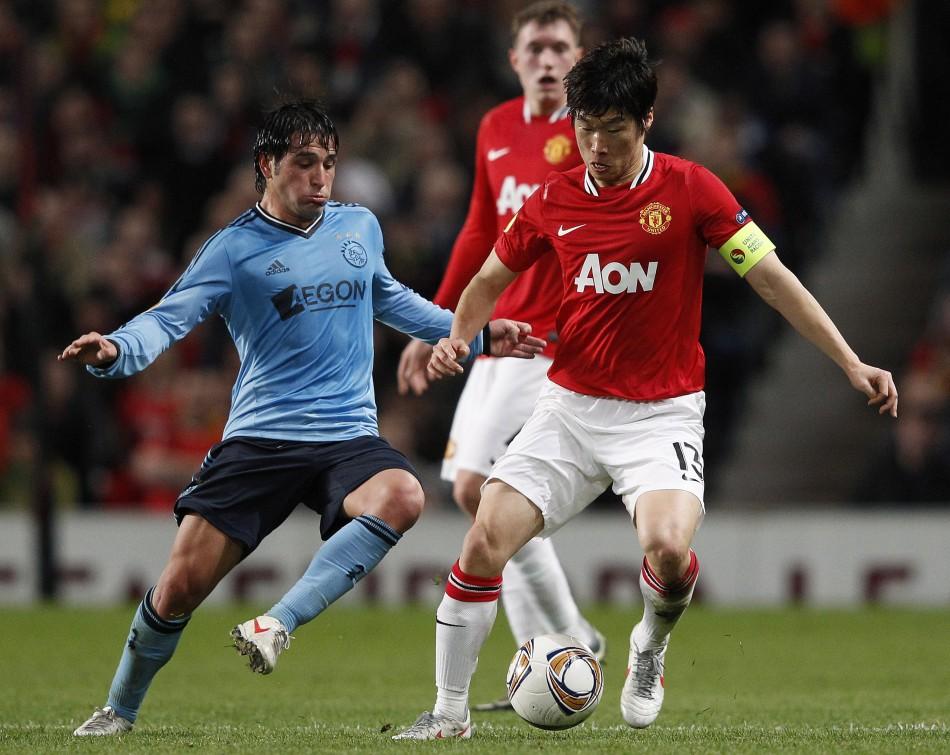 Soccer - UEFA Europa League - Round of 32 - Second Leg - Manchester United v Ajax - Old Trafford