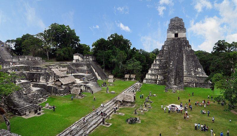 Tikal Mayan ruins