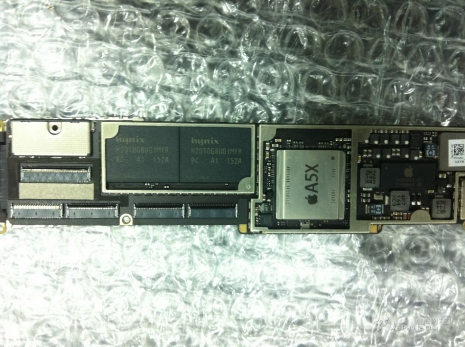 Leaked A5X Processor Chip