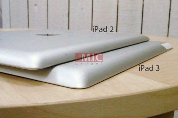 Leaked image of iPad 3 casing