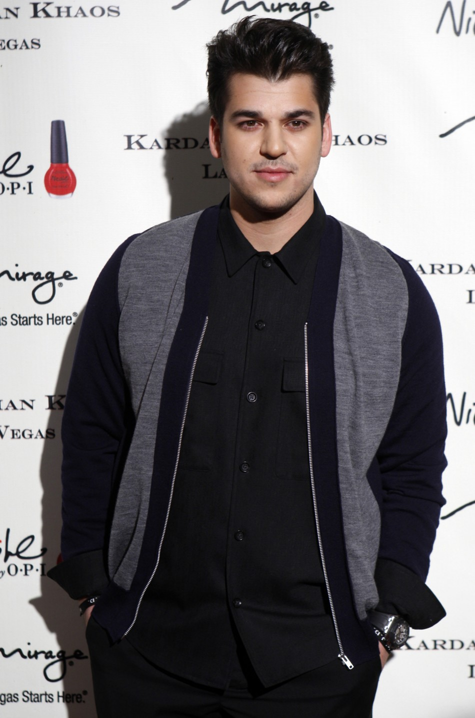 Rob Kardashian is said to be in touch with Lamar Odom, his sister Khloe's estranged husband.
