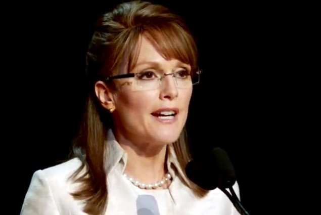 Julianne Moore stars as Sarah Palin in Game Change