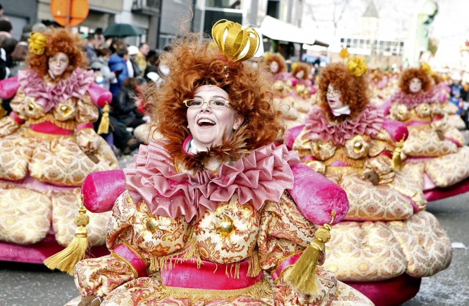 84th carnival parade of Aalst