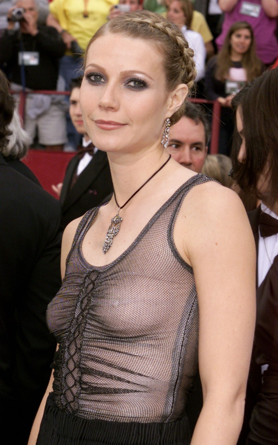 ACTRESS GWYNETH PALTROW ARRIVES FOR ACADEMY AWARDS.