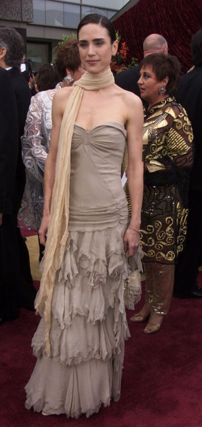 OSCAR NOMINEE JENNIFER CONNELLY ARRIVES AT ACADEMY AWARDS.
