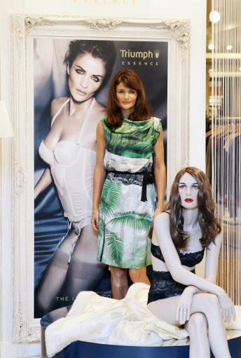 Supermodel turned designer Helena Christensen