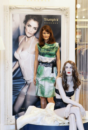 Supermodel turned designer Helena Christensen