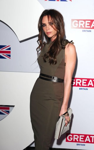 Victoria Beckham arrives at a reception to honour the British Nominees of the 84th Annual Academy Awards, held at the British Consul General039s Residence in Los Angeles, California.