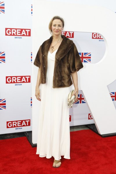 Janet McTeer poses at the GREAT Campaign British film reception to honor the British Oscar nominees in Los Angeles