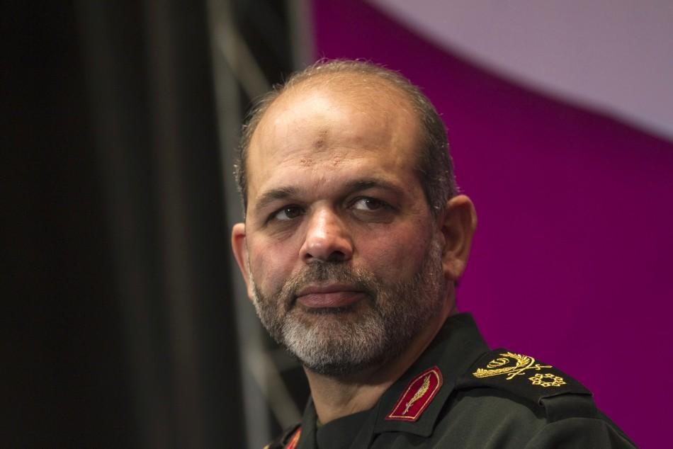Iranian Defence Minister Ahmad Vahidi.