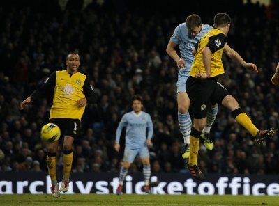 Soccer - Barclays Premier League - Manchester City v Blackburn Rovers - Etihad Stadium