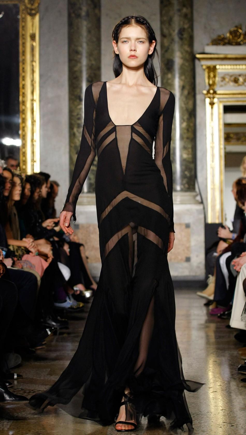 Milan Fashion Week Highlight Emilio Puccis Striking Androgynous Collection