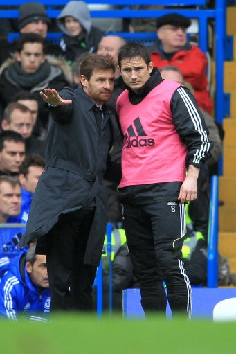 Andre Villas-Boas and Lampard