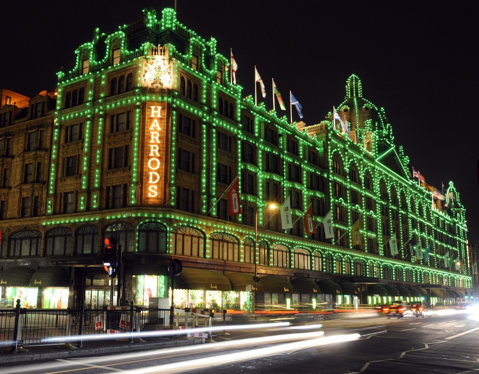 Harrods Store in London