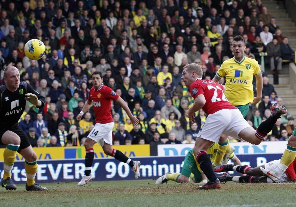 Norwich City vs. Manchester United