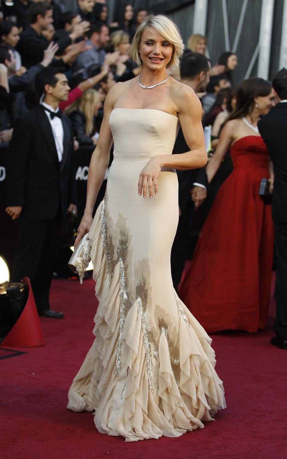 Cameron Diaz Oscars 2012