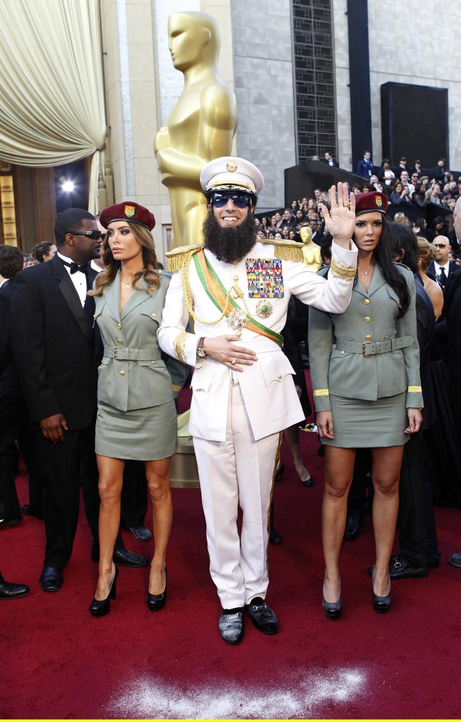 Sacha Baron Cohen Oscars 2012