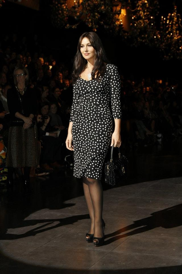 Celebrities Fashionistas And Front Row Guests At 2012 Milan Fashion Week Photos