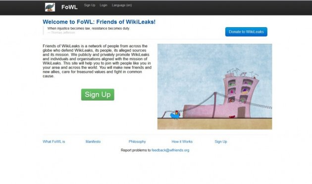 Homepage FoWL