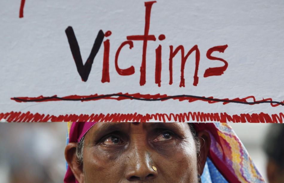 Bhopal gas tragedy/ Victim