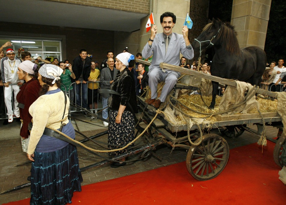 Borat premieres