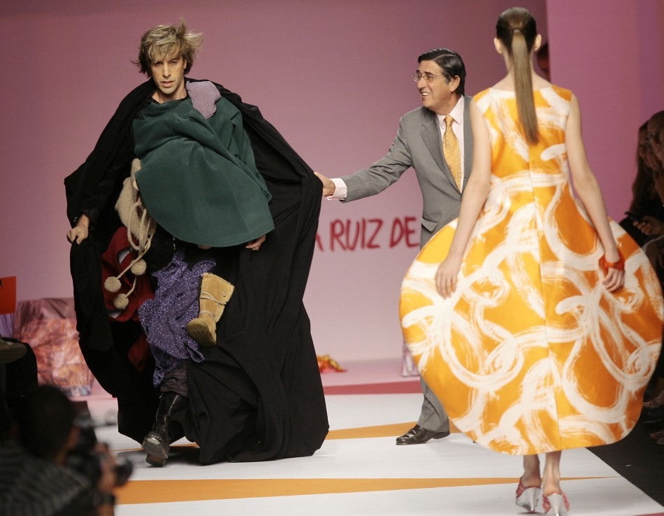 Bruno takes to the catwalk