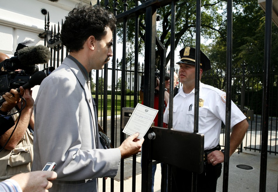Borat at the White House