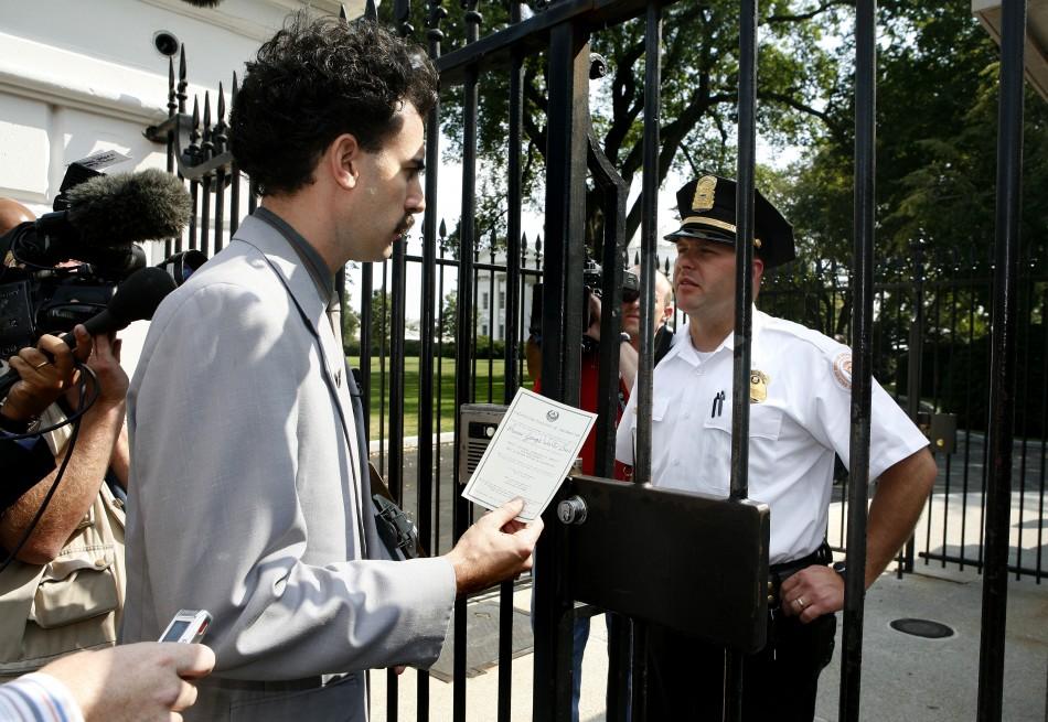 Borat at the White House
