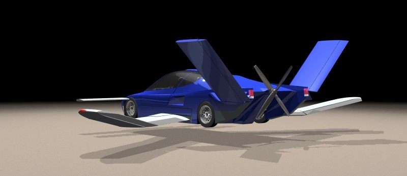 Driverless Flying Car
