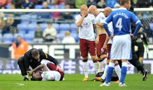 Darren Bent injured