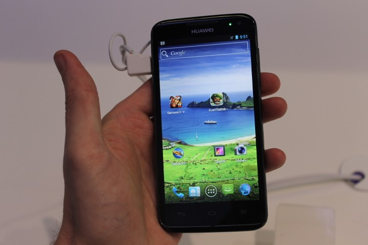 MWC 2012: Huawei Ascend D quad Hands-On Preview