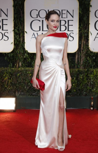 Angelina Jolie Red Carpet Poses