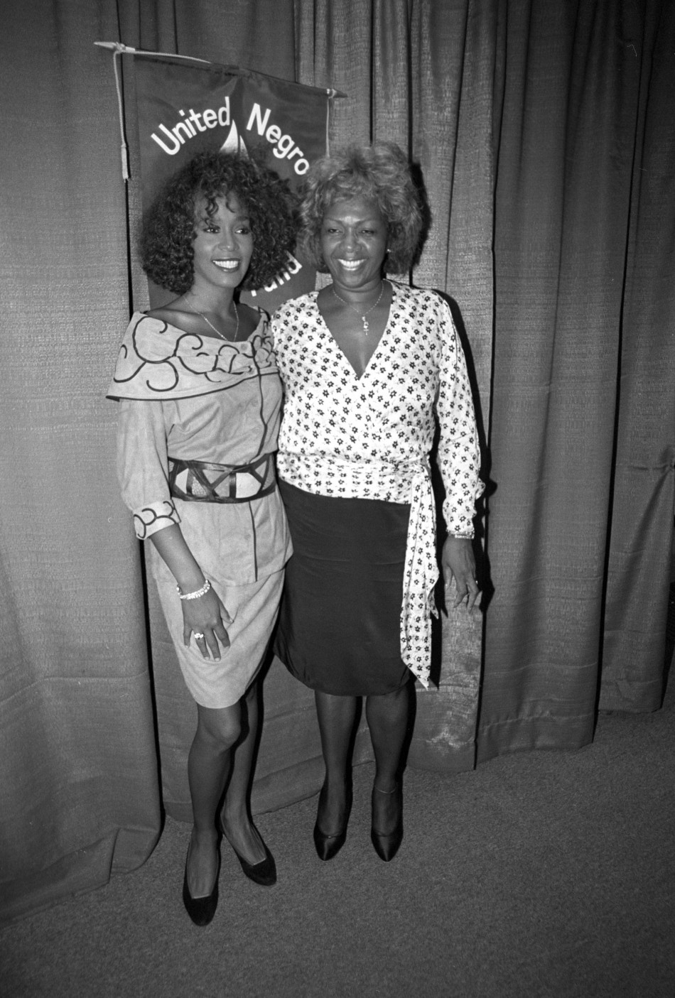 Whitney Houston and mother Cissy Houston