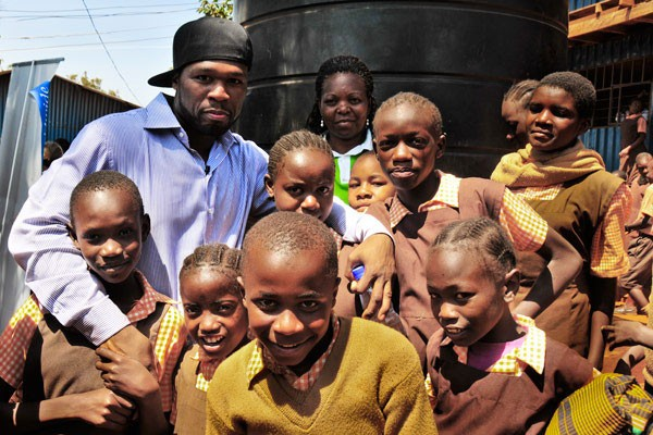 50 Cent in Kenya