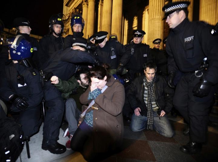 Christians St Paul's Occupy