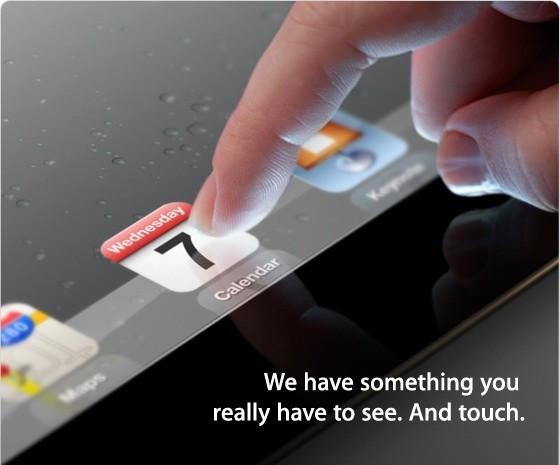 iPad invitation