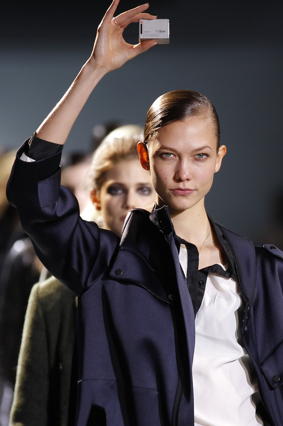 Top Models Karlie Kloss, Anja Rubik Kick-starts 2012 Paris Fashion Week