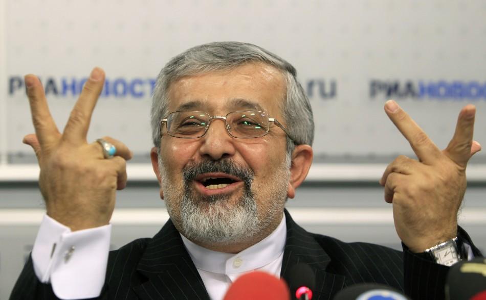 Ali Asghar Soltanieh, Iran's ambassador to International Atomic Energy Agency