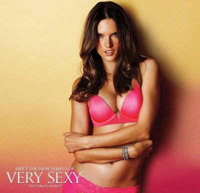 Brazilian model Alessandra raises poses for  American Spring Campaign 2012