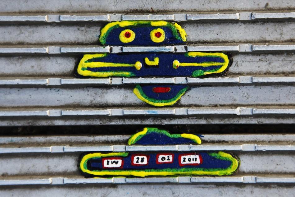Ben Wilson's chewing gum art