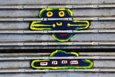 Ben Wilsons chewing gum art