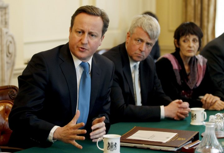 David Cameron and Andrew Lansley continue to fight for their NHS reforms
