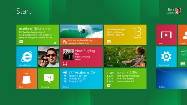 Windows 8 Release Date 2012: Microsoft's New Direction And Why It Could Rival Apple