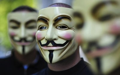Anonymous Hackers Attack Police Distributor Website