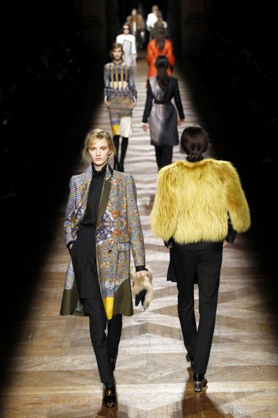 Dries Van Noten Looks to the East for Paris Fashion Week Collection