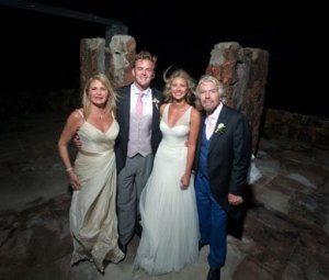 Richard Branson Posts Intimate Pictures of Daughter Holly's Wedding Day