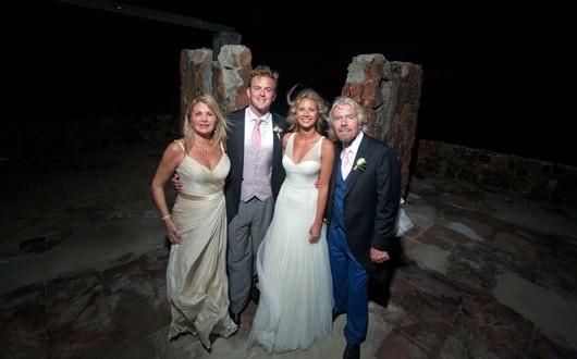 Virgin empire heiress Holly Branson flies economy with her children
