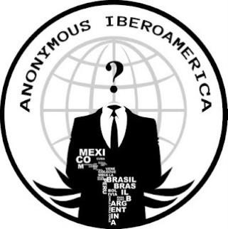 Anonymous Iberoamerica's logo