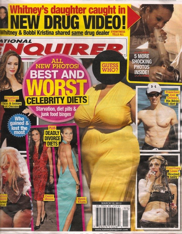 National Enquirer March issue